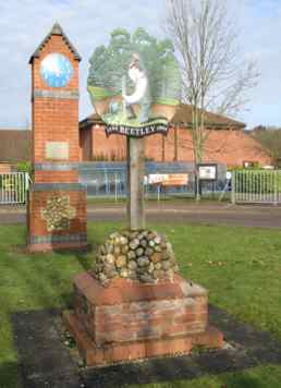 Photo - Beetley Village Sign